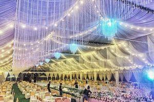 Rạp cưới khủng đang gây bão mạng có gì mà tốn tới gần 1 tỷ?
