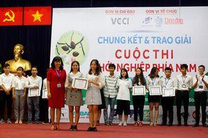 Nhóm sinh viên Trường ĐH Mở TPHCM giành giải Nhất cuộc thi Khởi nghiệp khu vực phía Nam