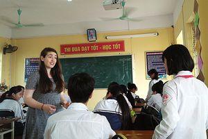 Sôi nổi ở lớp học tiếng Anh với giáo viên nước ngoài