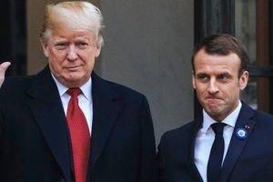 Tổng thống Pháp nói châu Âu cần san sẻ gánh quốc phòng với Mỹ