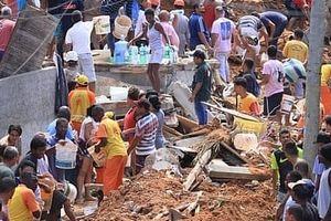 Sạt lở đất tại Brazil, 14 người chết và mất tích