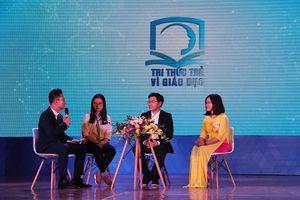 Trao giải thưởng 'Tri thức thức trẻ vì giáo dục' năm 2018