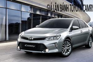 Giá lăn bánh Toyota Camry 2018 tại Hà Nội, TP. HCM và các tỉnh thành