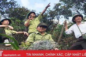 Phát hiện hơn 300 bẫy thú rừng trên núi Hồng Lĩnh
