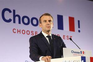 Tổng thống Pháp lên tiếng về sự chỉ trích của ông Donald Trump