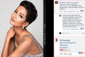 Bùi Phương Nga - Hoàng Thùy ra sức ủng hộ H'Hen Niê tại Miss Universe khiến fans loạn nhịp