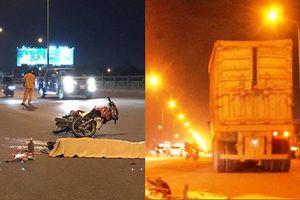 Đồng Nai: Xe máy húc vào đuôi xe container, 2 người thương vong