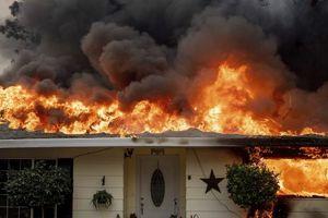 9 người thiệt mạng, cả thị trấn bị thiêu rụi sau đám cháy rừng ở Mỹ