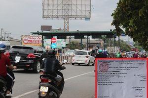 Trạm BOT đặt không hợp lý, giao thông qua khu vực 'ngã ba tử thần' hỗn loạn
