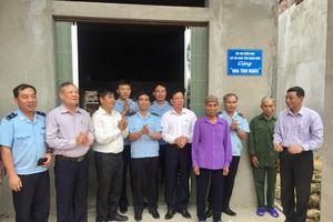Hải Hà: Khánh thành và bàn giao 'nhà tình nghĩa' cho 2 hội viên CCB