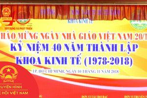 LỄ KỶ NIỆM 40 NĂM THÀNH LẬP KHOA KINH TẾ - ĐH NÔNG LÂM TP.HCM