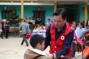 Hội Chữ thập đỏ TP Hà Nội tổ chức nhiều hoạt động nhân đạo tại Hà Giang