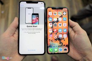Về Việt Nam một tuần, iPhone XS chính hãng đã giảm giá mạnh