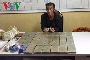Sơn La: Bắt 1 đối tượng, thu giữ 30 bánh heroin