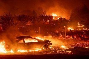 Mỹ: Cháy rừng tại California lan nhanh, ít nhất 25 người chết