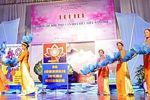 Kế hoạch hoạt động phong trào 'Toàn dân đoàn kết xây dựng đời sống văn hóa' tỉnh Bà Rịa – Vũng Tàu năm 2019