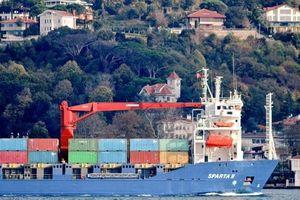 Tàu Nga chở lượng lớn thiết bị quân sự đang thẳng tiến đến Syria
