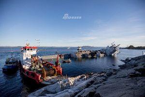 Không còn hy vọng cứu chiến hạm Aegis 650 triệu USD của Na Uy