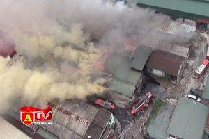 6 nhà xưởng thiệt hại sau vụ cháy ở Hoàng Mai
