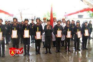 Triển khai đơn vị Cảnh sát Cơ động tại huyện Quốc Oai