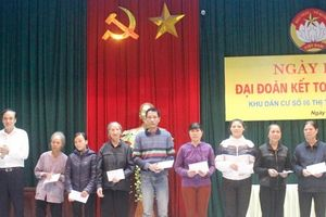 Bình Định: Đoàn kết cùng nhau xây dựng khu dân cư