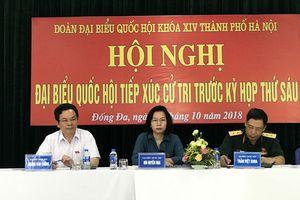 Thông báo thay đổi lịch tiếp xúc cử tri trước Kỳ họp thứ 7 HĐND TP tại huyện Thạch Thất, quận Nam Từ Liêm