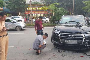 Hà Nội: Tài xế xe sang bất cẩn gây tai nạn liên hoàn