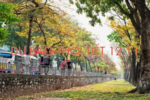 Dự báo thời tiết 12.11: Không khí lạnh 'tạm biệt', Hà Nội đón tuần mới ấm dần lên