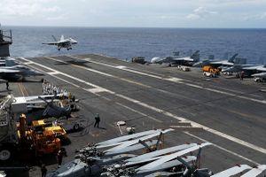 Vận đen chưa buông tha Hạm đội 7: Lại rơi tiêm kích tàu sân bay Ronald Reagan