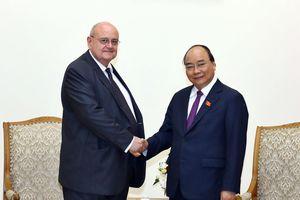 Thủ tướng tiếp Đại sứ Brazil