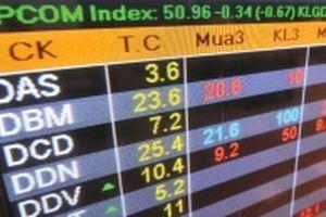 UPCoM: Danh sách hạn chế giao dịch của HNX còn 92 mã
