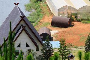 Danh thắng quốc gia hồ Tuyền Lâm tiếp tục bị 'xới tung'