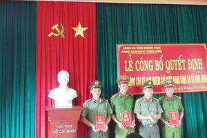 Chính quy hóa công an xã ở Quảng Nam: Tăng cường nhân lực chất lượng cho cơ sở