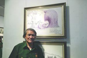 Họa sỹ Lê Mai: Thành danh với nghệ thuật bút sắt