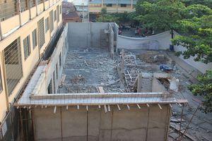 Kiểm định công trình bị sập trong lúc xây dựng