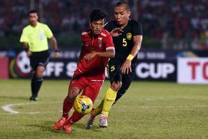 'Sát thủ' Aung Thu vẫn cùng tuyển Myanmar dự AFF Cup