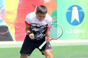 Lý Hoàng Nam ăn mừng lần đầu lên hạng 385 ATP bằng chiến thắng tại Nhật Bản