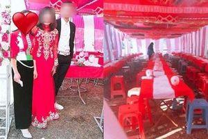 Xôn xao chuyện cô dâu bất ngờ bỏ trốn ngay trong đám cưới