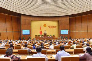 Quốc hội thông qua nghị quyết điều chỉnh kế hoạch đầu tư công trung hạn