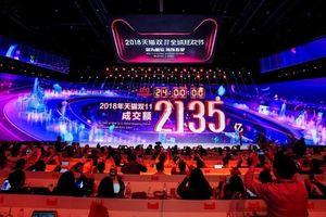 Alibaba đạt kỷ lục doanh số trong Ngày độc thân (11/11)