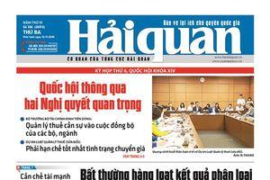 Những tin, bài hấp dẫn trên Báo Hải quan số 136 phát hành ngày 13/11/2018