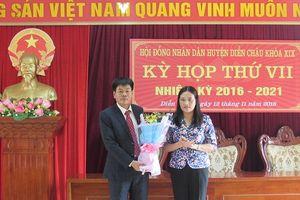 Diễn Châu bầu Chủ tịch UBND huyện mới