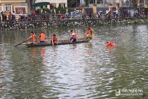 Nghệ An: Đã tìm thấy thi thể người đàn ông dưới hồ Thung Mây