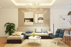 Ngắm căn hộ 101m2 với không gian sống ấm cúng 'vạn người mê' của cặp vợ chồng trẻ