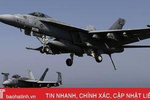 Tiêm kích của Hải quân Mỹ rơi xuống biển Philippines