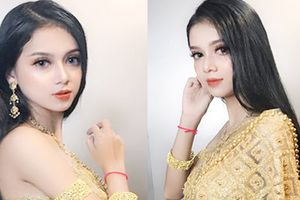 Xuất hiện thêm một cô gái dân tộc Khmer xinh hết phần thiên hạ khiến dân mạng tưởng nhầm con lai