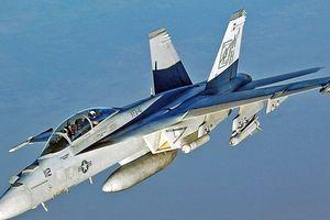 Máy bay chiến đấu F/A 18 của Mỹ rơi xuống biển ở Phillipines