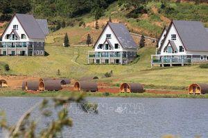 19 căn nhà gỗ xâm phạm nghiêm trọng thắng cảnh Quốc gia Hồ Tuyền Lâm, Đà Lạt