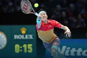 Nishikori gây bất ngờ trước Federer tại ATP Finals 2018