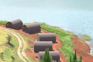 Đà Lạt: Hàng chục nhà gỗ xâm phạm thắng cảnh hồ Tuyền Lâm
